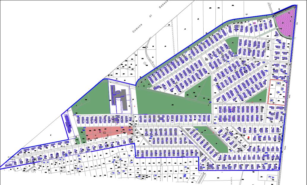 Planivolumetrico Comunale di previsione edilizia